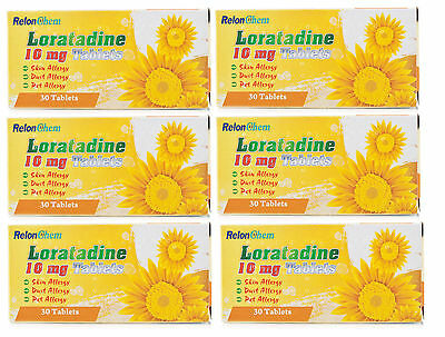 Loratadine one a day relief Hay fever allergy tab 30  BRANDS MY VERY