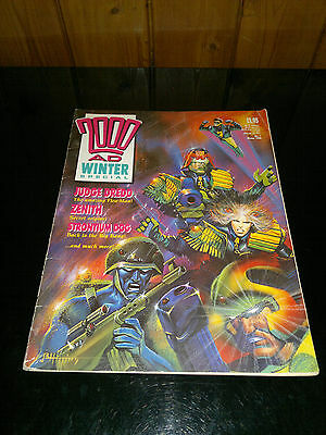 2000 AD Winter Special Featuring Judge Dredd,Zenith,Strontium Dog,