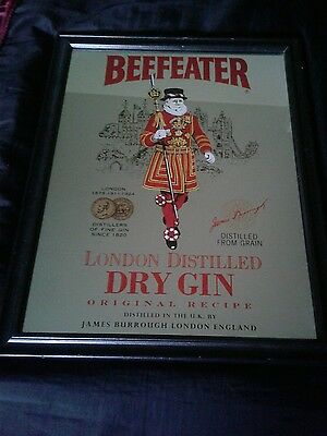 Beefeater Dry Gin Mirror/Sign
