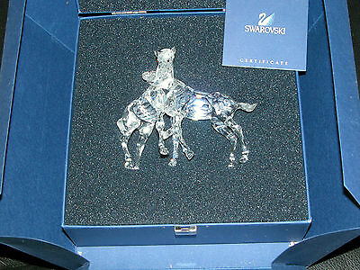 Swarovski Retired  Foals New  627637 Boxes and Certificate