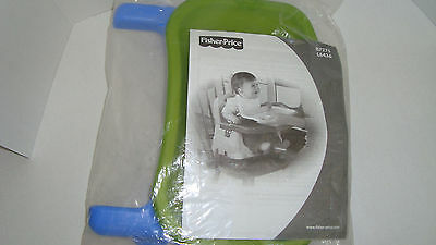Fisher Price Healthy Care Booster Seat Replacement Blue Feeding Tray  High Chair