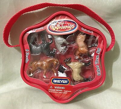 Brand New Breyer Package Of Mini Whinnies Drafts Horse Collection