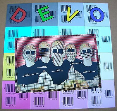 DEVO Duty Now For The Future 1 Sided Promo 12x12 Poster Flat 1979 Mint-