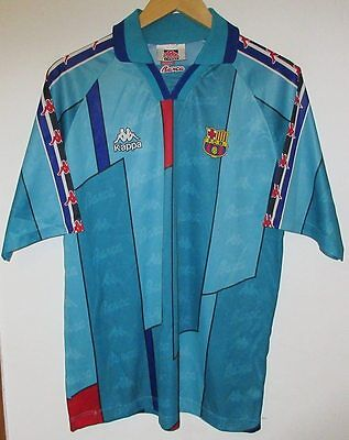 Barcelona 1995 Authentic Football Shirt By Kappa Large