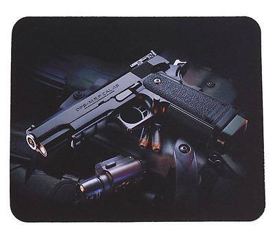 Guns Picture Anti Slip laptop Computer PC Mice Gaming Mouse Pad Mat Mousepad For