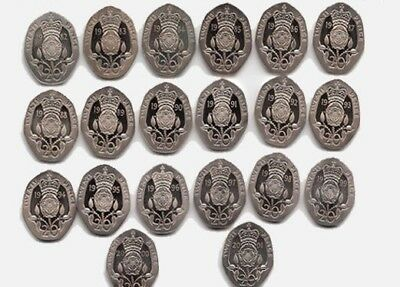 Twenty Pence Coins 20p - 1982 1984 1985 1990 1999 2000 - Choose your Year