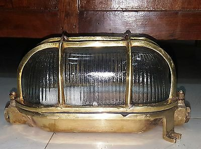 Nautical Marine New Brass Deck Light D0012