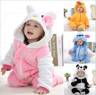 Baby Boy Girl WINTER WARM Birthday Fancy Party Costume Dress Outfit Gift 0-24M.