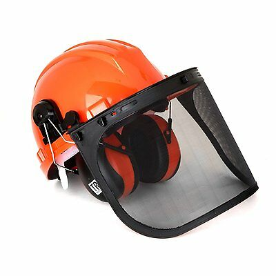 Chain Saw Forestry Safety Helmet Hearing Protection System, Adjustable/Removable