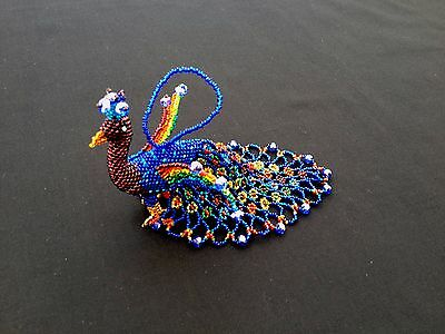 Glass Beaded  Peacock - Hand crafted