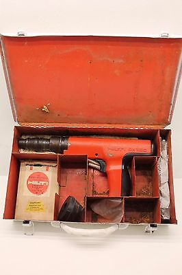 Hilti DX-350 Powder Actuated Nail Gun Fastening Systems Tool w/ Hard Case DX350