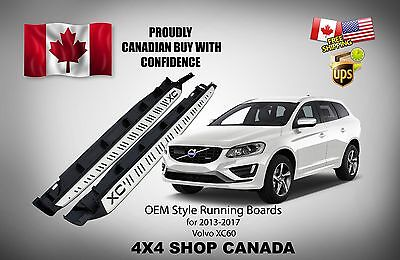 OE STYLE RUNNING BOARDS For 2013-2017 VOLVO XC60 SIDE STEP BARS NERF BAR