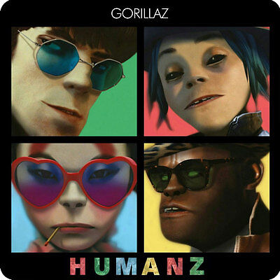 Gorillaz - Humanz -  Album Cover Fridge Magnet