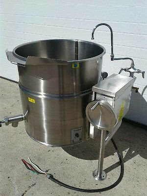 Cleveland KEL-40-T 40 Gallon Tilting 2/3 Steam Jacketed Electric Kettle