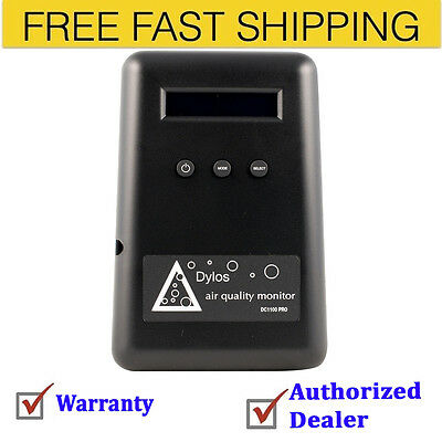 Dylos DC1100 Pro Air Quality Monitor Black Free Shipping