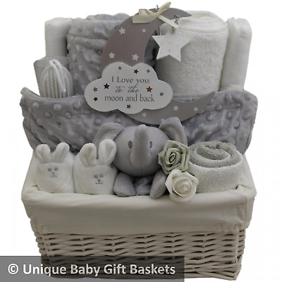 Deluxe Baby Gift Hamper - Ideal for Baby Shower/Maternity Gift
