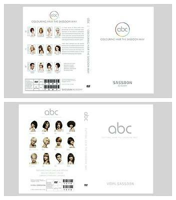 Abc Cutting And Abc Colouring Hair The Vidal Sassoon Way Education 6 Dvd 2 Sets.
