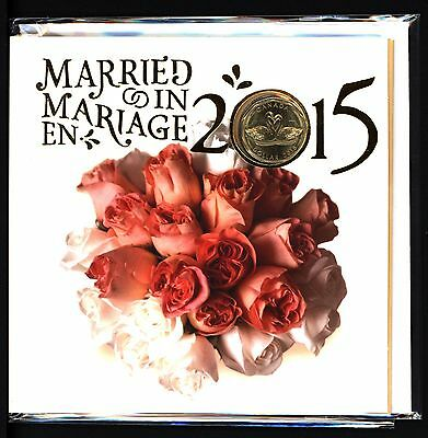 Canada - Married In 2015 Mint Sealed Coin Set With Limited Edition Loonie