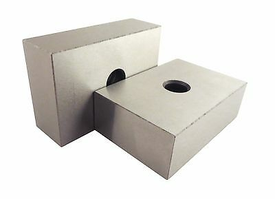 "123 Blocks One 1/2"" HOLE  Matched Pair 2 Each ULTRA PRECISION +/-.0002 HARDENED"