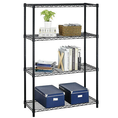 "New 36""x14""x54"" 4 Tier Layer Shelf Adjustable Steel Wire Metal Shelving Rack T54"