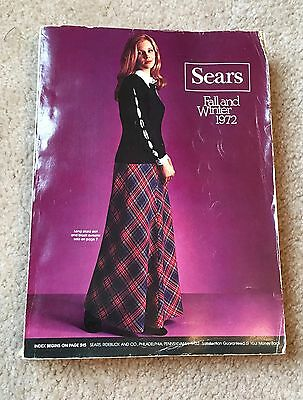 Vintage Sears Catalog Fall and Winter 1972 - with original wrapper!
