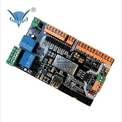 New 4 Axis USB CNC Card Controller Interface Board USBCNC Replaceable MACH3 DIY