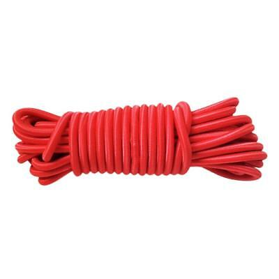 4mm x 10m Bungee Cord Shock Cord Bungie Cord Marine Grade Red