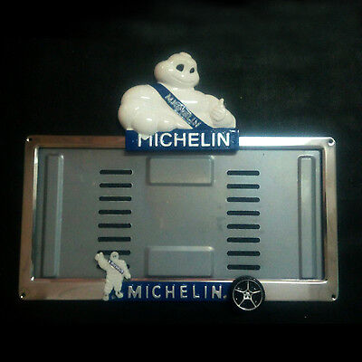 Truck License Plate Frame Case Michelin Man Truck Deco Advertise Tire Bibendum