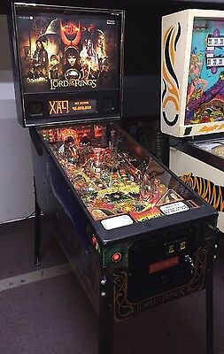 Lord of the Rings Pinball Machine By Stern Coin Op Arcade
