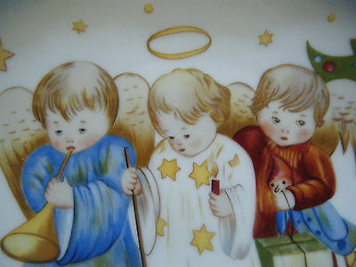 """Heavenly Trio"" Christmas Collector Plate by Sister Berta Hummel from Schmid!!"