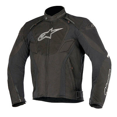 Alpinestars T-Jaws Black / Anthracite Motorcycle Waterproof Jacket   All Sizes