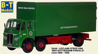 B-T Models,Leyland Octopus F//Bed John Aizlewood Ltd  Railway Gauge Truck 1:76