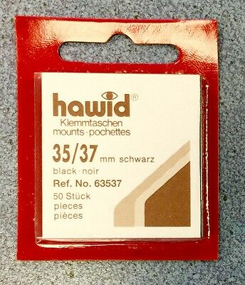 x3 Hawid Stamp Mounts 35/37 -Black ~ONLY £9.95! FREE UK DELIVERY!⭐️⭐️⭐️