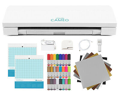 New Silhouette CAMEO 3 Craft Bundle
