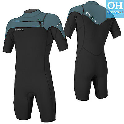 O'Neill Mens Spring Wetsuit Hammer Short Sleeve Spring Suit Chest Zip Surf Kayak