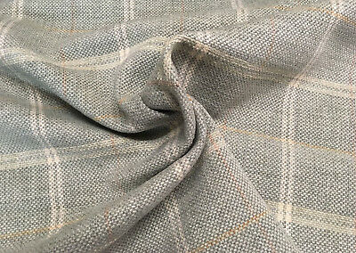 Colefax Fowler Checked Upholstery Fabric Hemsby Check Old Blue 2 0