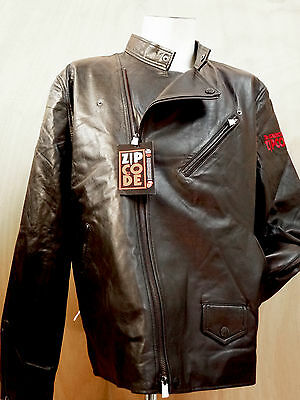 Rolling Stones - Official 2015 Zip Code - Leather Jacket - New - # 223/400 - Xl