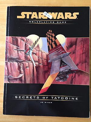 Star Wars Roleplaying Game Secrets Of Tatooine JD Wiker