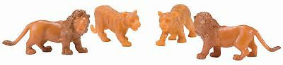 Lionel K-line 6-21610 Circus Animals Two Lions Two Tigers O Gauge Model Trains