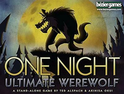 One Night Ultimate Werewolf Board Game - Bezier Games Free Shipping!