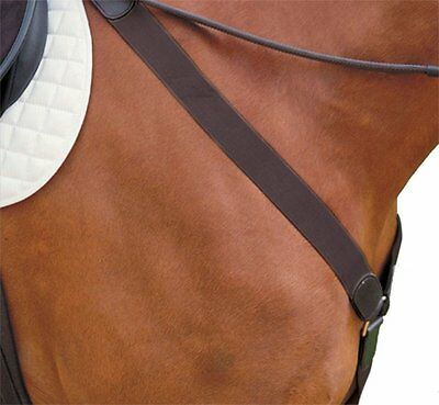 Kincade Elastic Y Fit Breastplate Brown Full