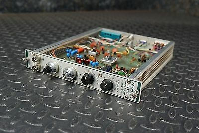 Tennelec TC 216 Linear Amp and SCA NIM BIN