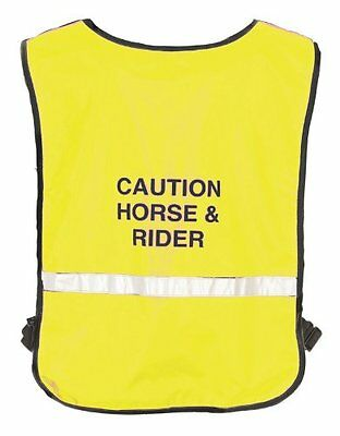 NEW Roma Reflective Safety Vest for Road and Trail Riding Fog and Night Riding