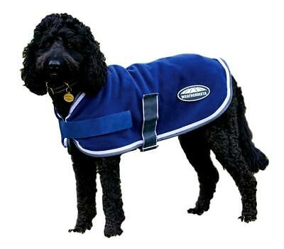 Weatherbeeta Fleece Dog Coat with Touch Tape Chest and Belly Closures