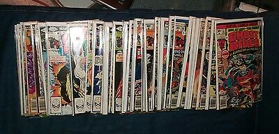 huge ghost rider 49 issue bronze age comics lot run movie marvel collection book