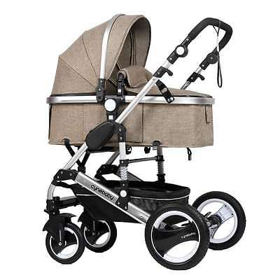 Cynebaby Baby Stroller 3 in 1 City Select Pram Pushchair for Infant and Toddler