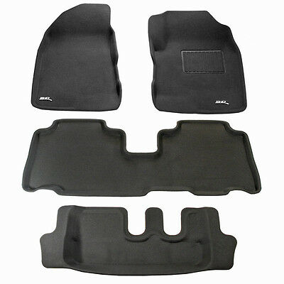 Holden Captiva 7 2011 - 2017 3D Rubber Car Floor Mats