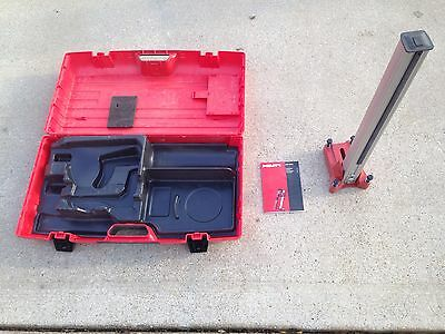 HILTI DD-120  STAND AND CASE  (mint never used)