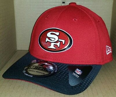 size 40 c5005 1df1e ... 50% off nwt new era 39thirty san francisco 49ers fitted size football  cap hat nfl