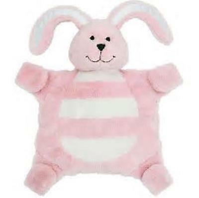 Baby sleepytot bunny, dummy holder, comforter blanket - Small Pink FREE POST